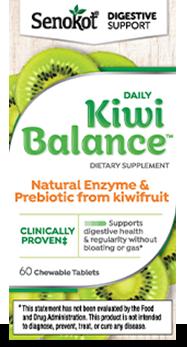 Senokot™ Kiwi Balance™ Dietary Supplement - Regularity Support* - Senokot®