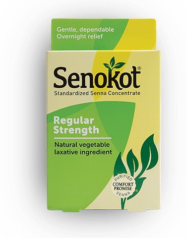 Senokot® Regular Strength Laxative | Gentle and Overnight Relief from Occasional Constipation