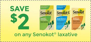 Senokot® Laxatives - Special Offers
